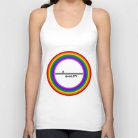 equality Tank Tops featuring Equality by LukaG