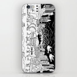 Noah's Spaceship iPhone Skin