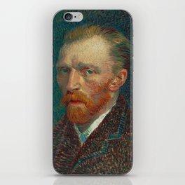 Vincent Van Gogh Self-Portrait iPhone Skin