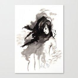 Miseria de los miserables (sketch version) Canvas Print