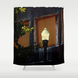Solar Lighting Shower Curtain