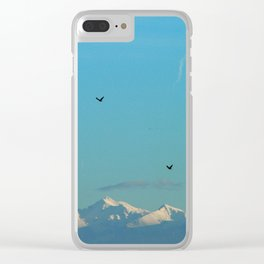 Paramount birds Clear iPhone Case