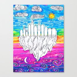 Philadelphia, City of Brotherly Love Canvas Print