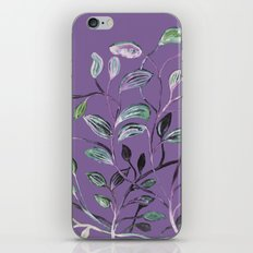 Silky Lavender Greenery Leaves iPhone & iPod Skin