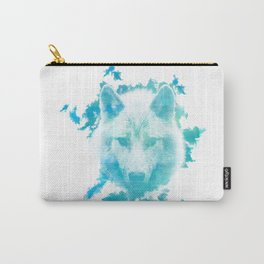 Blue Wolf Carry-All Pouch