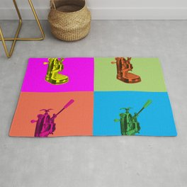 Pop Art La Pavoni Lever Espresso Machine Rug