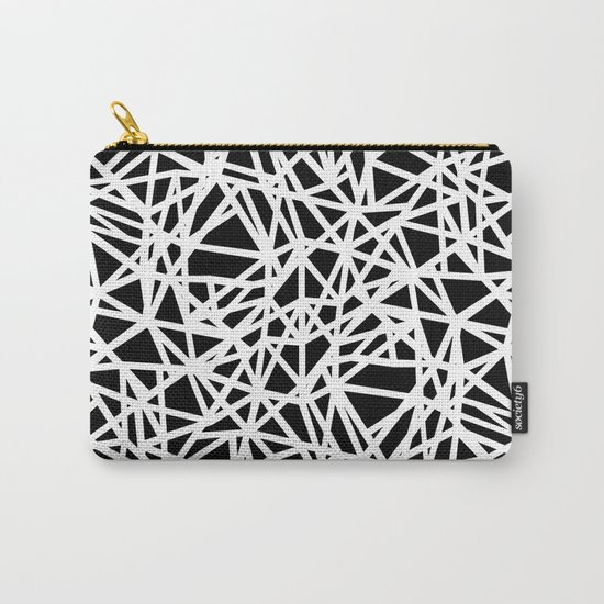 Ab Upside down Black Carry-All Pouch