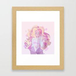 steven universe: rainbow quartz Framed Art Print
