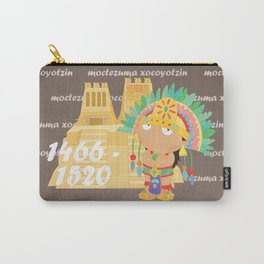 Moctezuma Xocoyotzin Carry-All Pouch