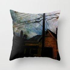 Home Invasion Throw Pillow