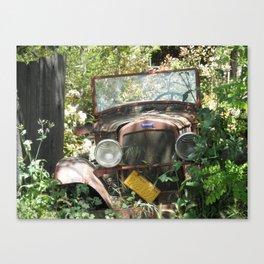 Past is Present 4 Canvas Print