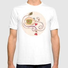Apple of My Eye Mens Fitted Tee White MEDIUM