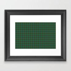 Canadian Fancy Tartan Framed Art Print