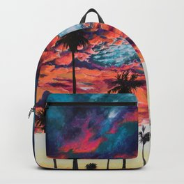 Tropical Sunset Backpack