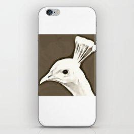 Peacock Art Design iPhone Skin
