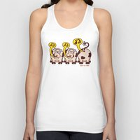 cows Tank Tops featuring Singing Cows by Zoo&co on Society6 Products
