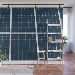 Image of solar power panel Wall Mural