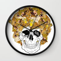 afro Wall Clocks featuring Afro by dogooder