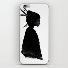 Never Never iPhone & iPod Skin