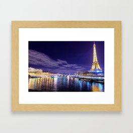 Paris Nights Framed Art Print