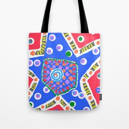 Blue star Tote Bag