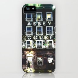 Abbey Court iPhone Case
