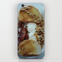 breakfast iPhone & iPod Skins featuring Breakfast by Gurevich Fine Art