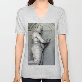 Monument to Sir Thomas Wentworth the 1st Earl of Strafford Unisex V-Neck