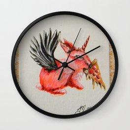 RABBIT TREASURE Wall Clock