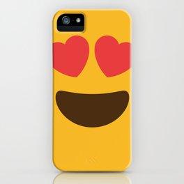 Love Face iPhone Case