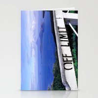 philippines Stationery Cards featuring OFF LIMIT (Philippines) by Julie Maxwell