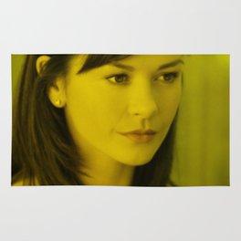 Catherine Zeta - Celebrity (Florescent Color Technique) Rug