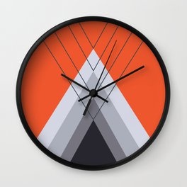 Iglu Flame Wall Clock