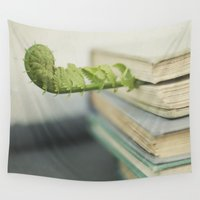 books Wall Tapestries featuring Books by Pure Nature Photos