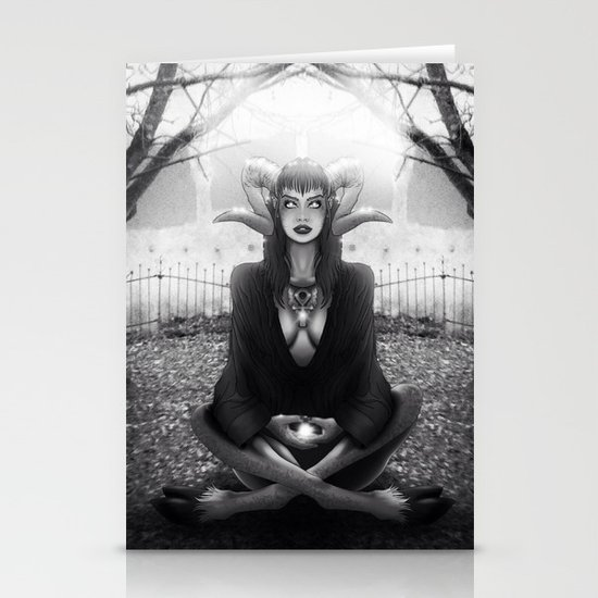 Meditate 2 Stationery Cards