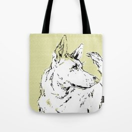 Howl Along Tote Bag