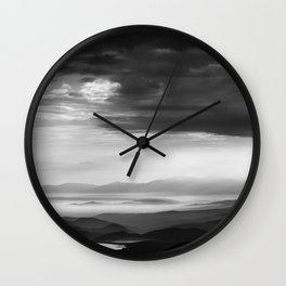 Balkan Mountain Wall Clock