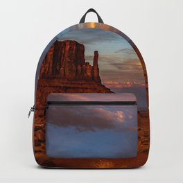 Oljato - Monument Valley 0122 - Sunset Backpack