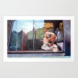 There's Just Something About Beagles Art Print