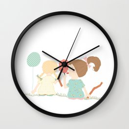 At The Carnival Wall Clock