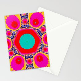 Halley The Fractal Stationery Cards