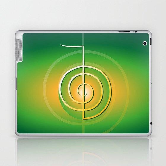 Cho Ku Rei Reiki Symbol Laptop Ipad Skin By Libro Society6