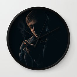 A Moment of Introspection Wall Clock