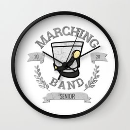 Marching Band Senior - Class of 2020 Wall Clock