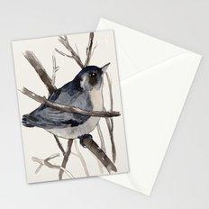 Grey Birdy 2 Stationery Cards