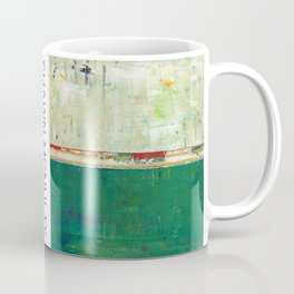 Fairbanks Abstract Light Blue White Coffee Mug
