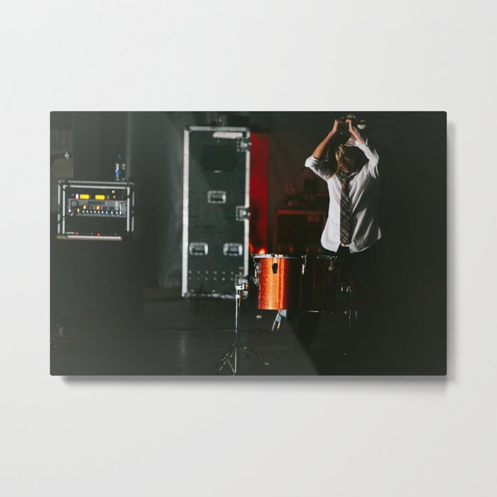 Jon Foreman - Switchfoot Metal Print