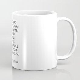 Stoic Philosophy Quote - Marcus Aurelius - MASTERY Coffee Mug