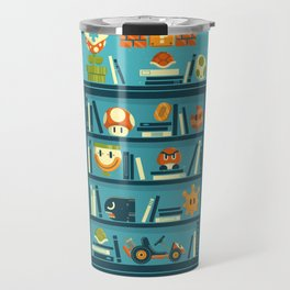 Mario Shelf Travel Mug