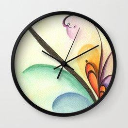 Spring I Wall Clock